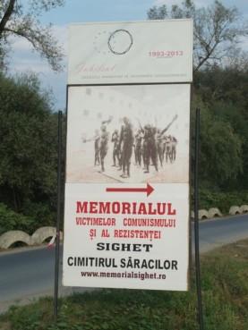 12 Denkmal für die Opfer des Kommunismus bei Sighet. © S.Müller