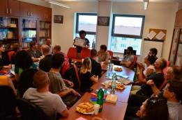 13 Treffen mit Mitarbeitern des Instituts für russinische Sprache und Kultur an der Universität Prešov. © O.Hegedues