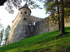 14 Burgruine in Stará Lubovna. © N.Gutsul