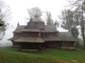 2 Strukivs'ka-Kirche in Jasinja, die seit 2013 zum UNESCO-Weltkulturerbe zählt. © N.Gutsul