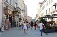 3 Fußgängerzone in Užhorod. © L.Kelm