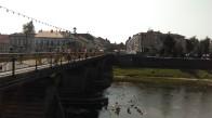 4 Die Pešechodnyj-Brücke über den Už in Užhorod. © S.Rohdewald