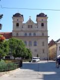 7 Universitätskirche der hl. Dreifaltigkeit (ehemalige Jesuitenkirche) in Košice. © N.Gutsul