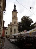 9 Die Franziskanerkirche in Cluj-Napoca. © N.Gutsul